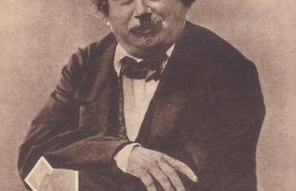 Alexandre Dumas, photographed by Nadar