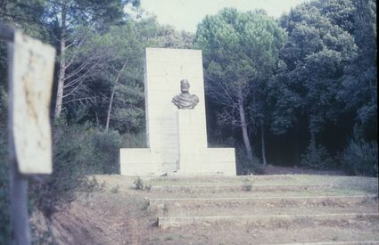 Monument at Cala Martina
