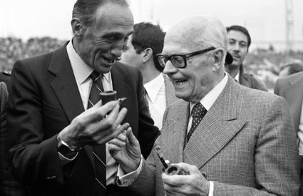 Sandro Pertini and Bearzot