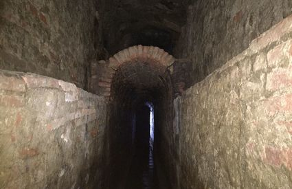 The tunnels of the Vasari Aqueduct in Arezzo