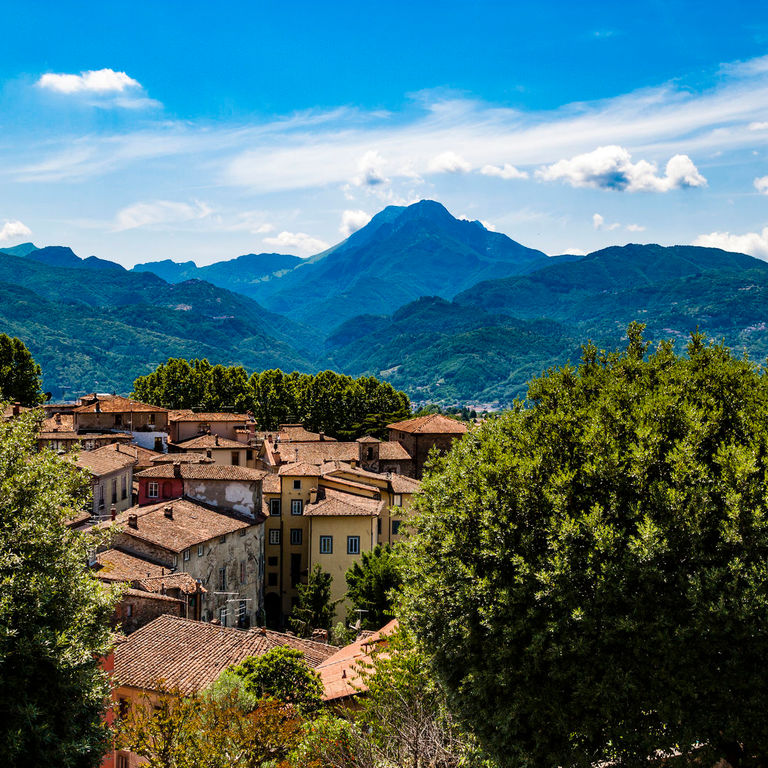 A view of Barga