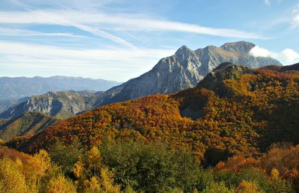 Le Apuane in autunno