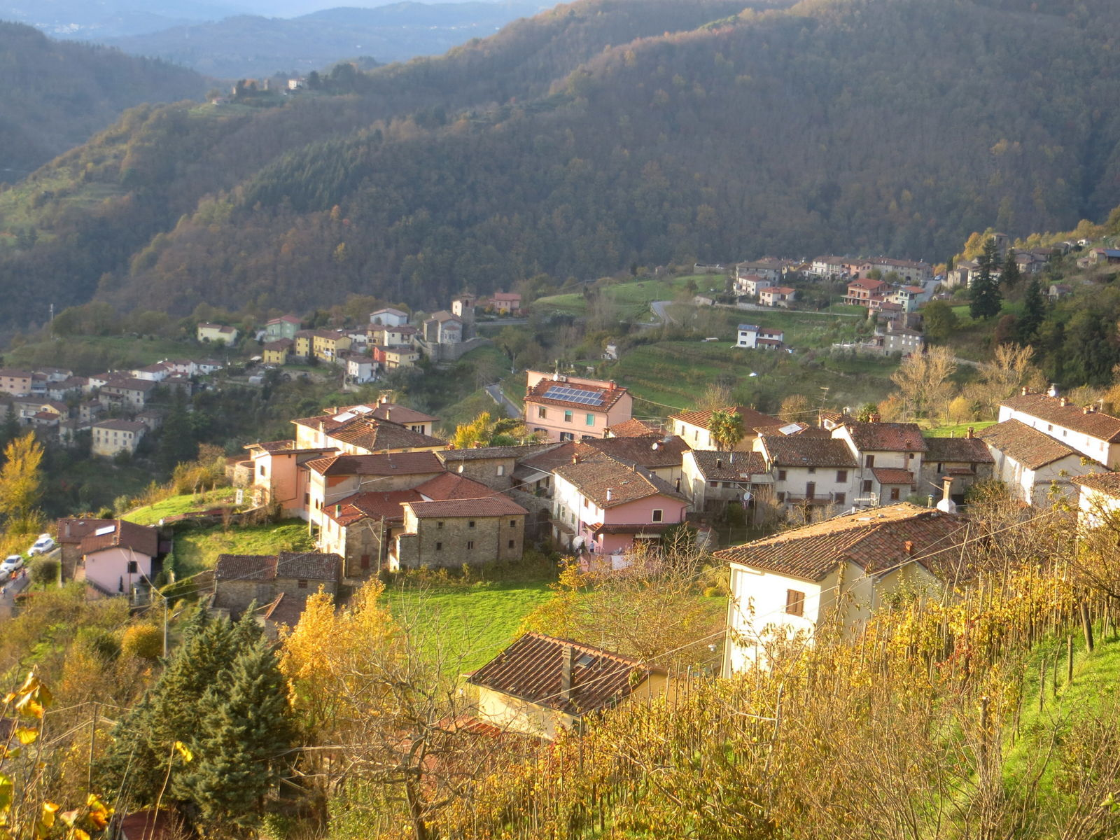 Fosciandora - On the border between Garfagnana and Lucchesia