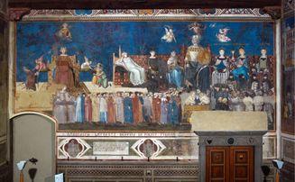Ambrogio Lorenzetti Siena Buon Governo