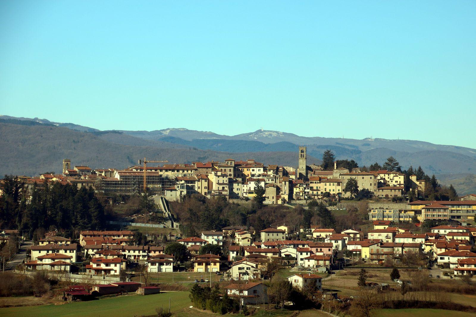Bibbiena - Il capoluogo del Casentino