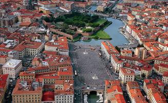Livorno, Piazza della Repubblica e Fortezza Nuova