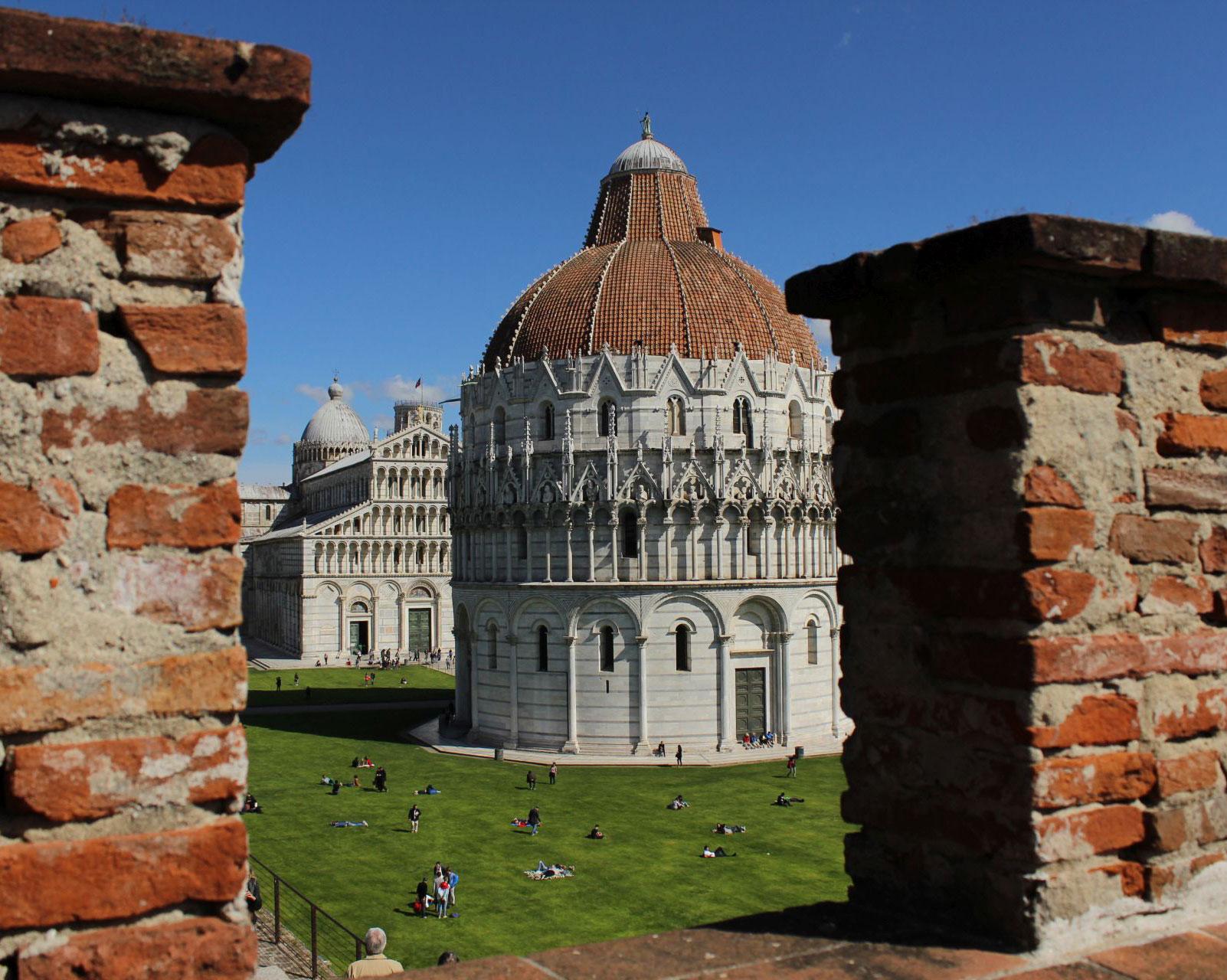 Pisa - Pisa dall'alto: un nuovo punto di vista - Toscana Ovunque Bella