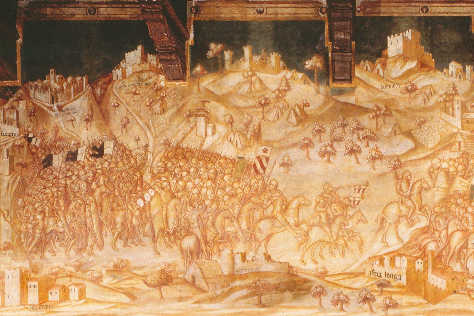 Sinalunga, La Battaglia di Valdichiana