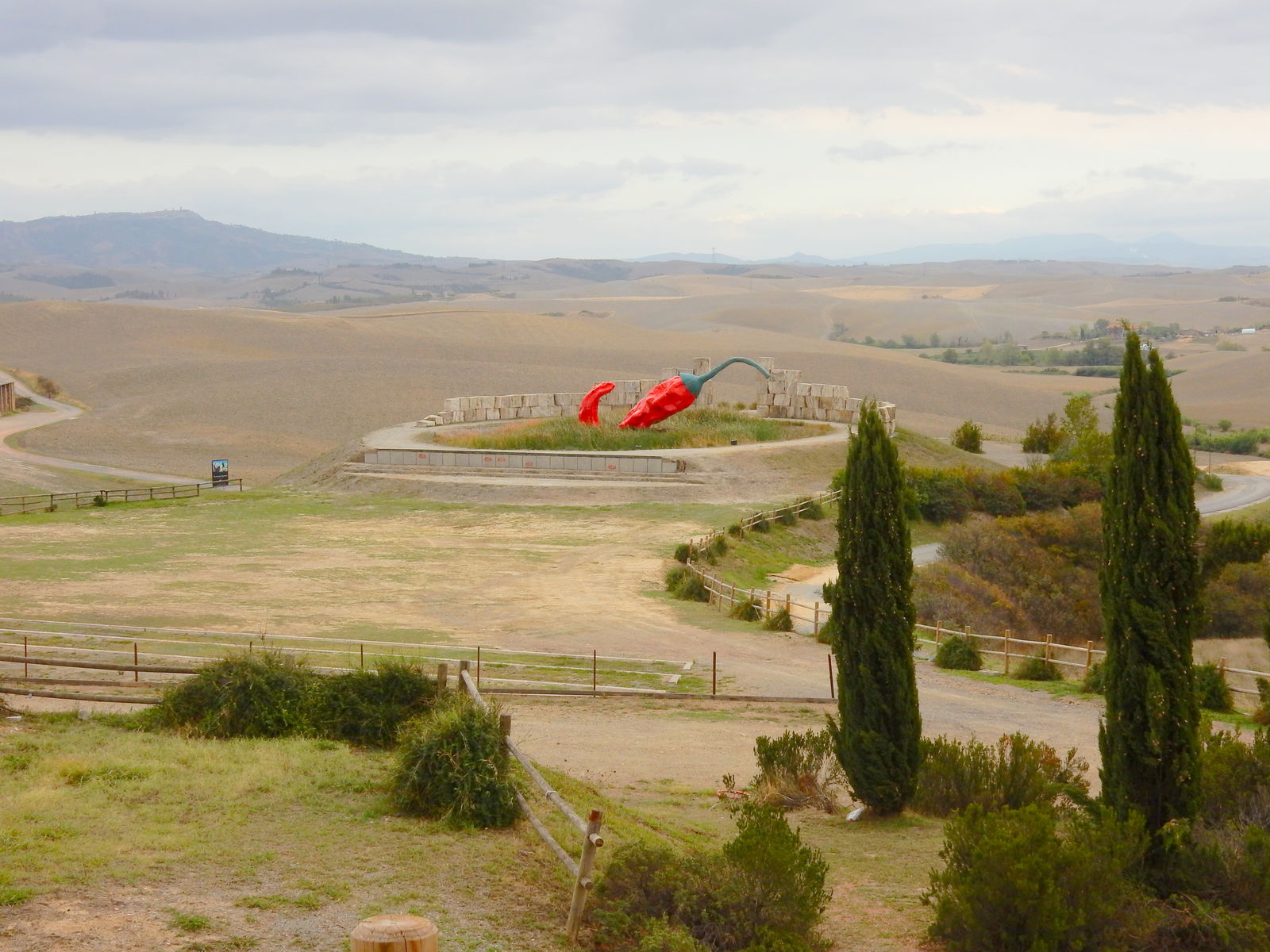 Lajatico - Il paese degli artisti