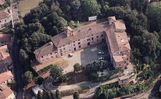 Villa Baciocchi dall'alto