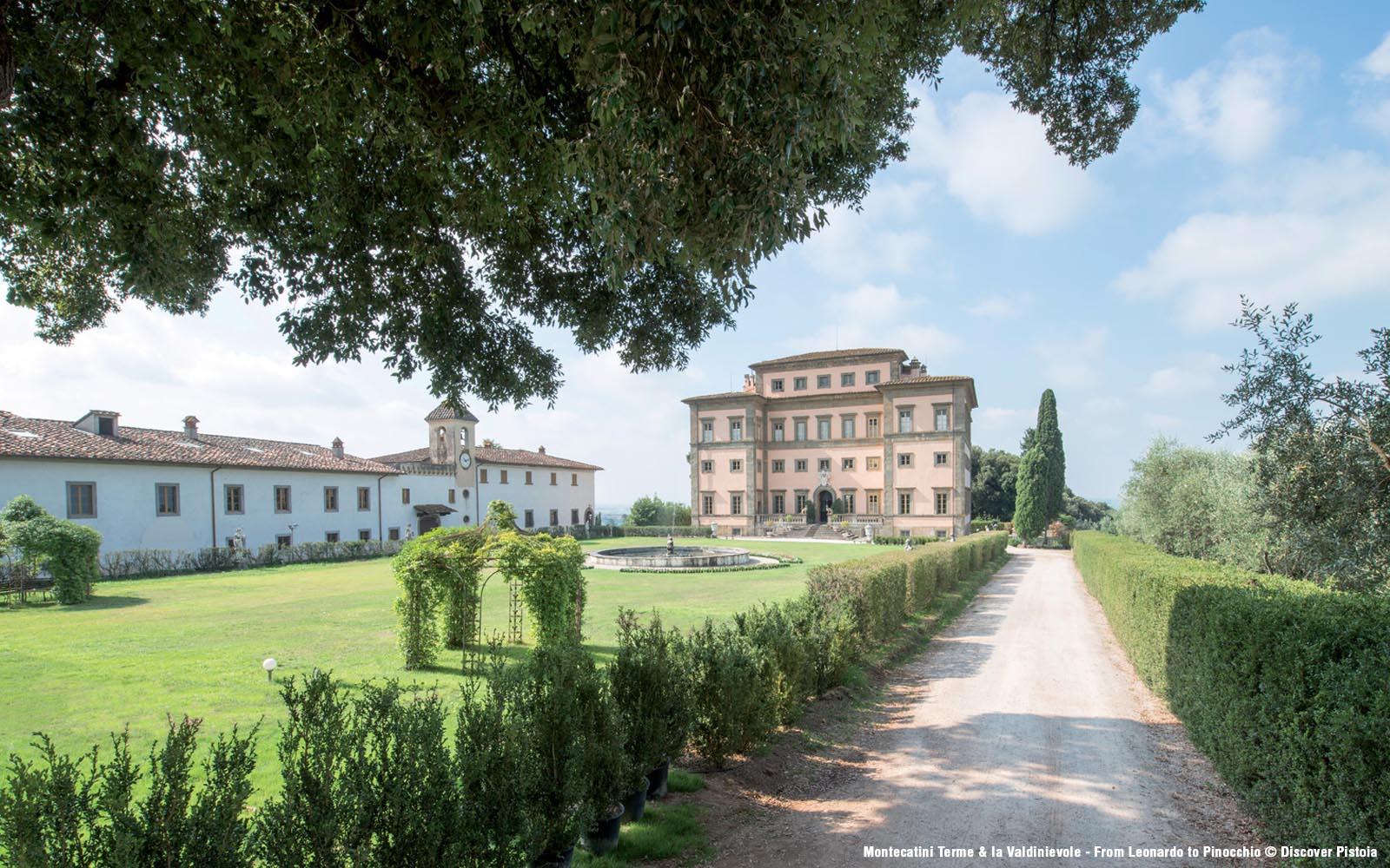 Villa Rospigliosi, Lamporecchio
